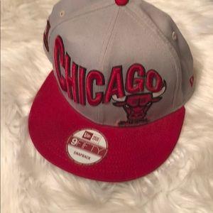 New Era Chicago Bulls SnapBack Adjustable Cap